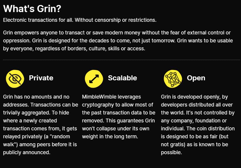 Что такое GRIN