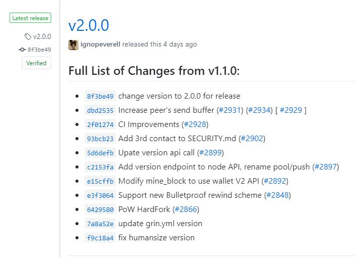 Лист изменений v2.0.0 относительно v1.1.0